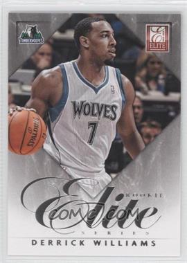 2012-13 Elite Elite Series Rookie Inserts #11 - Derrick Williams