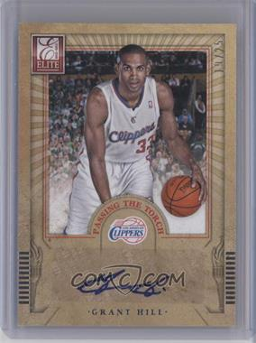 2012-13 Elite Passing the Torch Autographs #15 - Grant Hill, Kyrie Irving /25