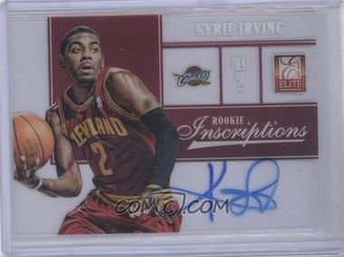 2012-13 Elite Rookie Inscriptions [Autographed] #1 - Kyrie Irving