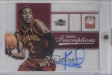 2012-13 Elite Rookie Inscriptions [Autographed] #1 - Kyrie Irving