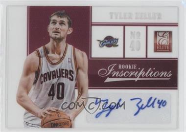 2012-13 Elite Rookie Inscriptions [Autographed] #13 - Tyler Zeller