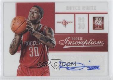 2012-13 Elite Rookie Inscriptions [Autographed] #27 - Royce White