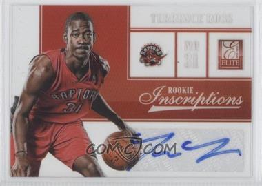 2012-13 Elite Rookie Inscriptions [Autographed] #30 - Terrence Ross