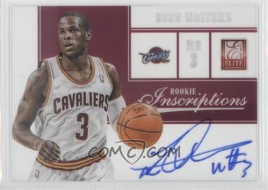 2012-13 Elite Rookie Inscriptions [Autographed] #31 - Dion Waiters