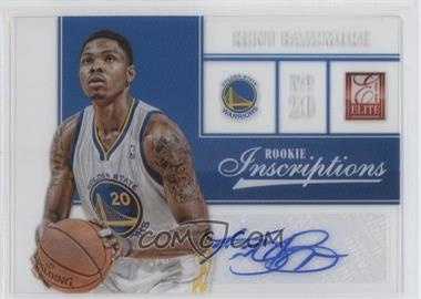 2012-13 Elite Rookie Inscriptions [Autographed] #36 - Kent Bazemore
