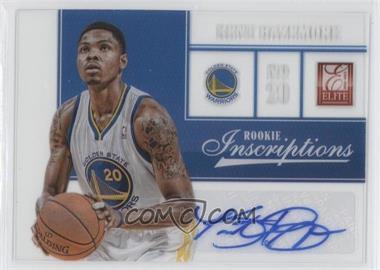 2012-13 Elite Rookie Inscriptions [Autographed] #36 - Kent Bazemore
