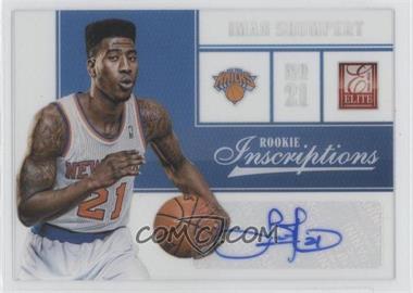 2012-13 Elite Rookie Inscriptions [Autographed] #4 - Iman Shumpert
