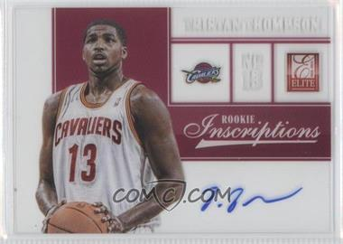 2012-13 Elite Rookie Inscriptions [Autographed] #49 - Tristan Thompson