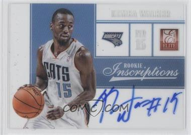 2012-13 Elite Rookie Inscriptions [Autographed] #50 - Kemba Walker