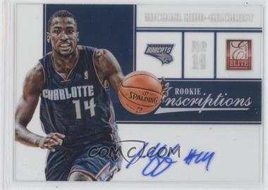 2012-13 Elite Rookie Inscriptions [Autographed] #58 - Michael Kidd-Gilchrist
