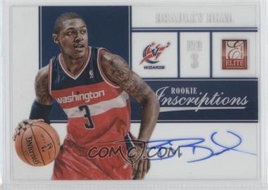 2012-13 Elite Rookie Inscriptions [Autographed] #88 - Bradley Beal