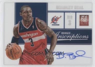 2012-13 Elite Rookie Inscriptions [Autographed] #88 - Bradley Beal