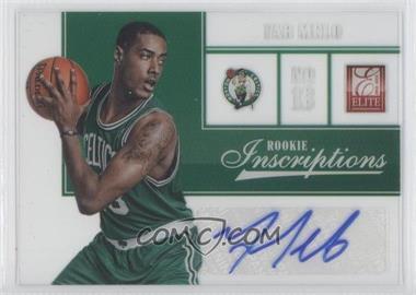 2012-13 Elite Rookie Inscriptions [Autographed] #91 - Fab Melo