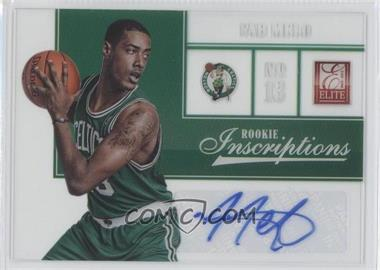 2012-13 Elite Rookie Inscriptions [Autographed] #91 - Fab Melo