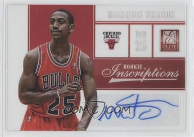 2012-13 Elite Rookie Inscriptions [Autographed] #92 - Marquis Teague