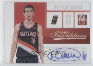 2012-13 Elite Rookie Inscriptions [Autographed] #97 - Victor Claver