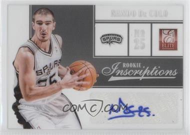2012-13 Elite Rookie Inscriptions [Autographed] #98 - Nando De Colo