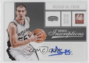 2012-13 Elite Rookie Inscriptions [Autographed] #98 - Nando De Colo