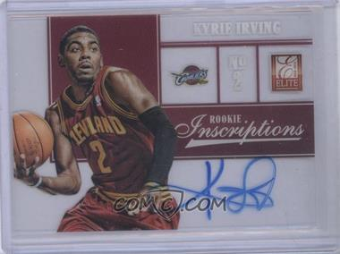 2012-13 Elite Rookie Inscriptions #1 - Kyrie Irving