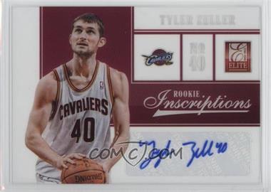 2012-13 Elite Rookie Inscriptions #13 - Tyler Zeller