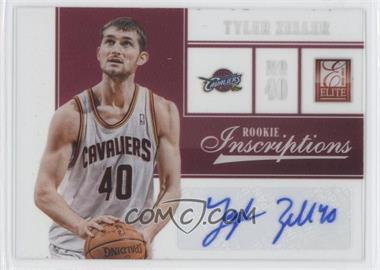 2012-13 Elite Rookie Inscriptions #13 - Tyler Zeller
