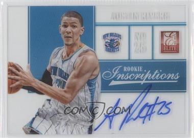 2012-13 Elite Rookie Inscriptions #29 - Austin Rivers