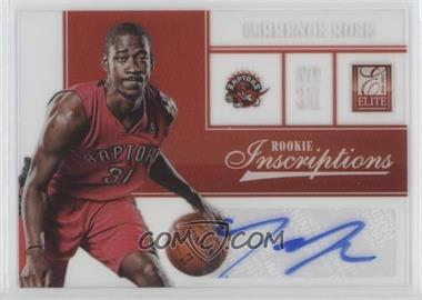 2012-13 Elite Rookie Inscriptions #30 - Terrence Ross