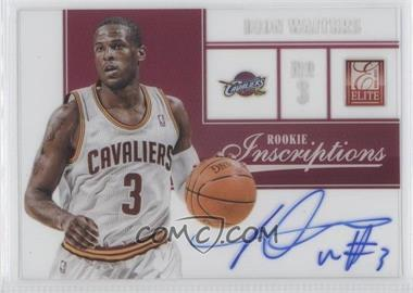 2012-13 Elite Rookie Inscriptions #31 - Dion Waiters