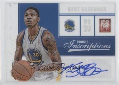 2012-13 Elite Rookie Inscriptions #36 - Kent Bazemore