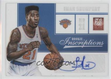 2012-13 Elite Rookie Inscriptions #4 - Iman Shumpert
