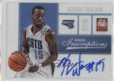 2012-13 Elite Rookie Inscriptions #50 - Kemba Walker