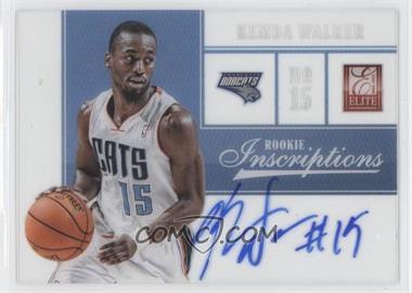 2012-13 Elite Rookie Inscriptions #50 - Kemba Walker