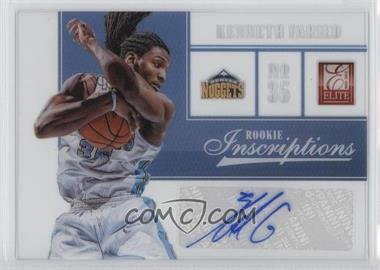 2012-13 Elite Rookie Inscriptions #53 - Kenneth Faried