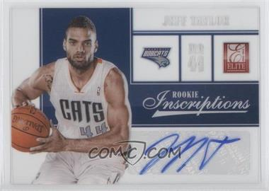 2012-13 Elite Rookie Inscriptions #65 - Jeff Taylor