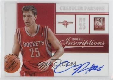 2012-13 Elite Rookie Inscriptions #7 - Chandler Parsons