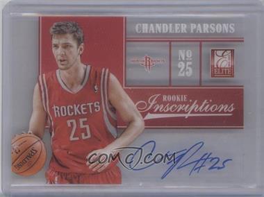 2012-13 Elite Rookie Inscriptions #7 - Chandler Parsons