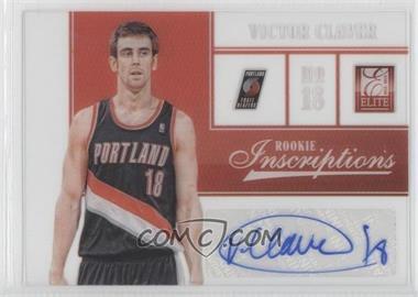 2012-13 Elite Rookie Inscriptions #97 - Victor Claver