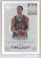 Klay Thompson #53/249