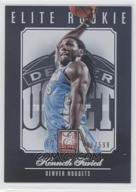 2012-13 Elite #221 - Kenneth Faried /599