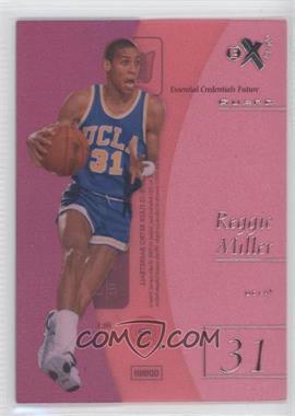 2012-13 Fleer Retro - 1997-98 Fleer EX 2001 Essential Credentials Future #EX-2 - Reggie Miller /41