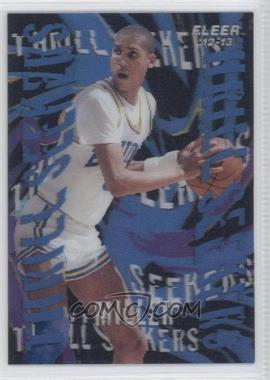 2012-13 Fleer Retro 1996-97 Fleer Tradition Thrill Seekers #3 - Reggie Miller
