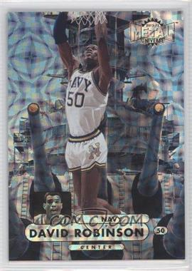 2012-13 Fleer Retro 1997-98 Metal Universe Precious Metal Gems #97PM-18 - David Robinson /100