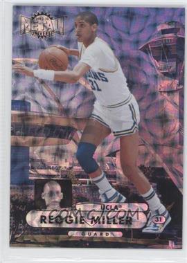 2012-13 Fleer Retro 1997-98 Metal Universe Precious Metal Gems #97PM-7 - Reggie Miller /100