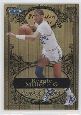2012-13 Fleer Retro 1998-99 Fleer Tradition Playmakers Theater #20 PT - Reggie Miller /100