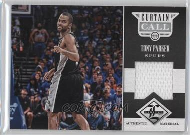 2012-13 Limited - Curtain Call Materials #19 - Tony Parker /199