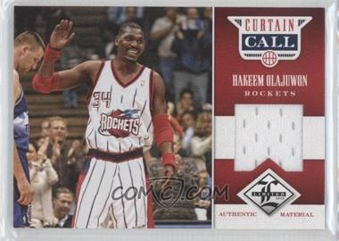 2012-13 Limited Curtain Call Materials #11 - Hakeem Olajuwon /199