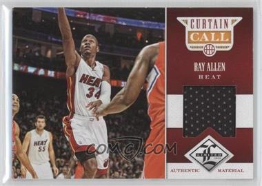 2012-13 Limited Curtain Call Materials #48 - Ray Allen /199