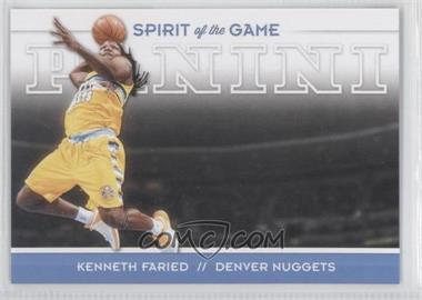 2012-13 Panini - Spirit of the Game #6 - Kenneth Faried