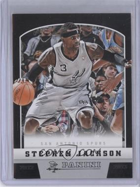 2012-13 Panini Black Knight #156 - Stephen Jackson /10