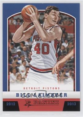 2012-13 Panini Black Knight #178 - Bill Laimbeer /10